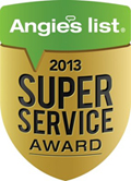 Yocum Shutters and Blinds - Angie's List Super Service Award 2013