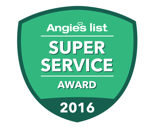 Yocum Shutters and Blinds - Angie's List Super Service Award 2016
